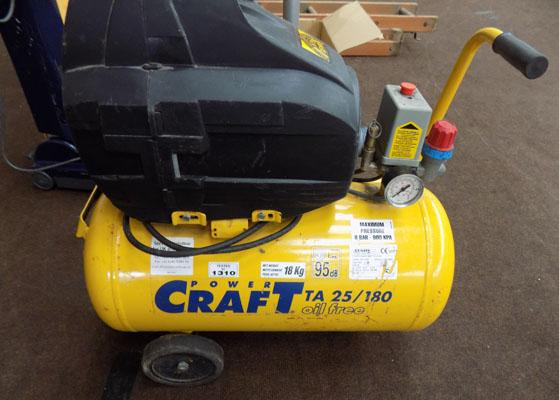 Power Craft Compressor-powers up but not tested