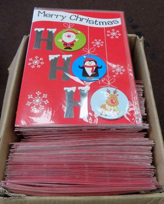 Approx 70 Christmas cards