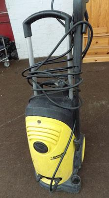 Karcher pressure washer-powers up but not tested