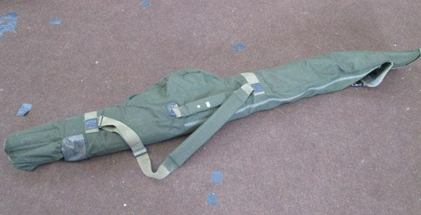 Fishing bag & contents inc rods