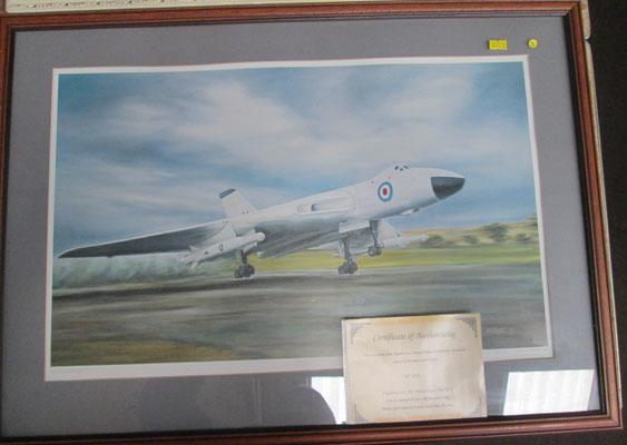 Signed framed Skybolt print No 009