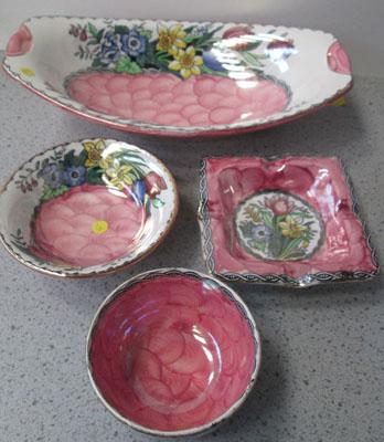 4 Pieces of Maling ware