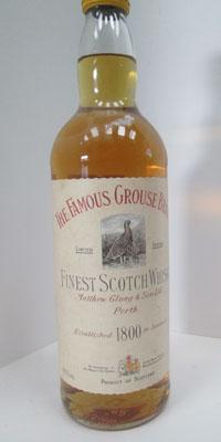 Rare Famous Grouse brand whisky rrp £200