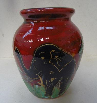 Anita Harris Safari vase