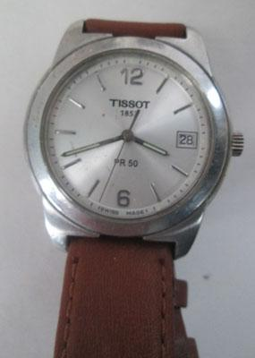 Mans Tissot watch