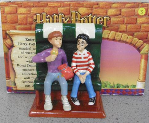 Doulton Harry Potter Ltd ed 'The friendship begins' boxed with certificate
