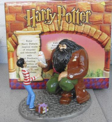 Doulton Harry Potter Ltd ed 'Harry's 11th Birthday' boxed with certificate