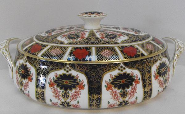 Royal Crown Derby old Imari Tureen & lid