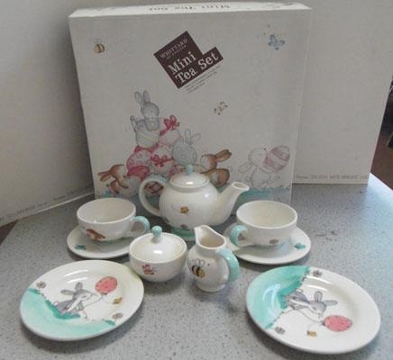 Mini tea set Whittards of Chelsea inc original box