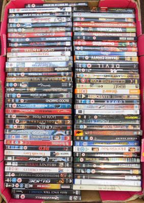 Box of DVD's