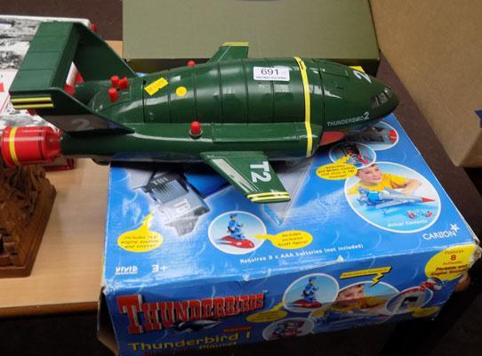 Collection of Thunderbird toys