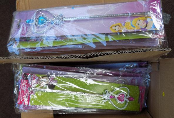 4x Boxes of Fairy wands