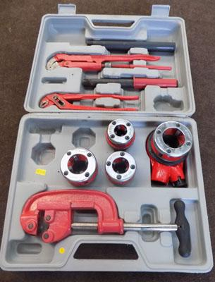 case of pipe cutters/benders etc