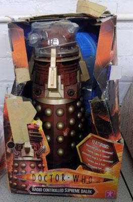 Dr Who dalek new