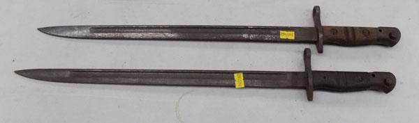 Pair of WW1 US issue Bayonets