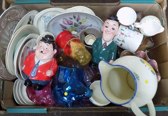 Mixed box inc Laurel & Hardy, Poole