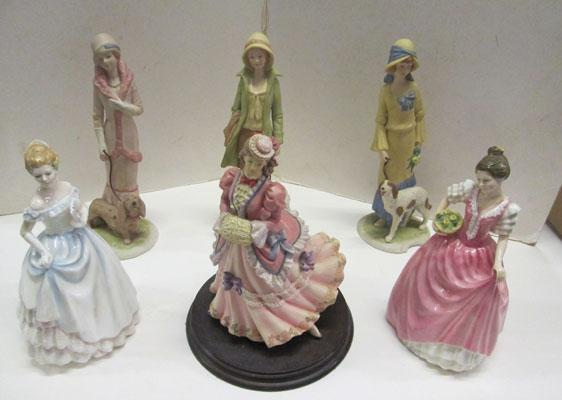 Mixed Royal Doulton Ladies & other collectables