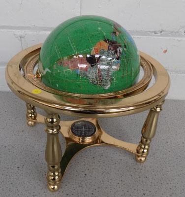Miniature jewelled globe