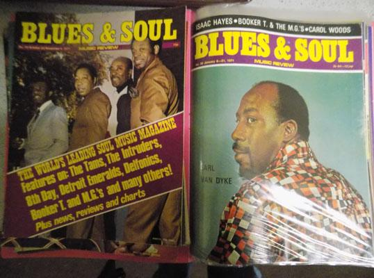 Folder Blues & Soul magazines
