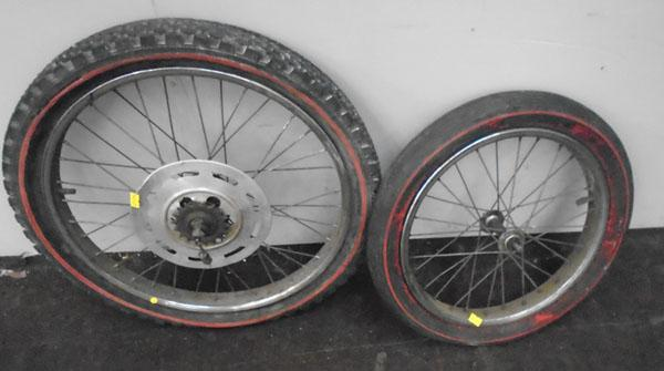 Raleigh chopper wheels