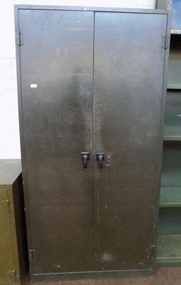 Tall double cupboard