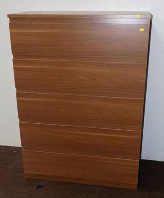 Large 5 drawer unit