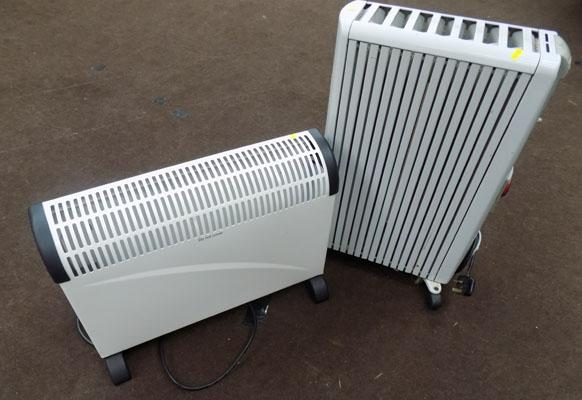 Oil filled radiator & convection heater