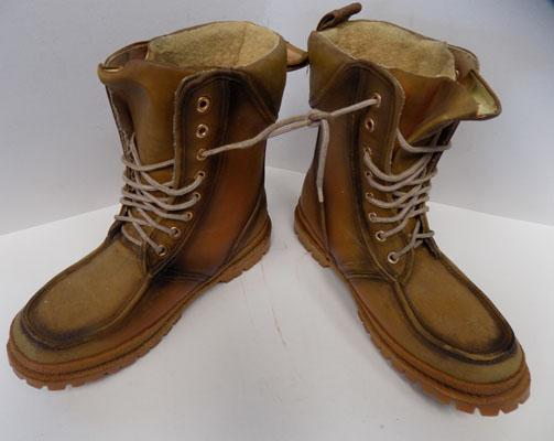 Pair of work boots size 9