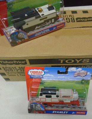 6x New Thomas trackmaster engines