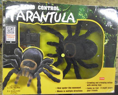 Radio controlled Tarantula-new