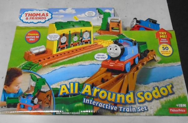 Thomas all around Sodor