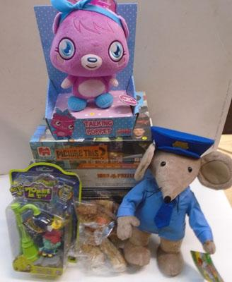 Toys, games & soft toys