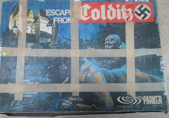 Vintage 'Colditz' table game