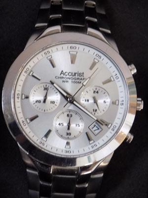 Accurist 100mtr chronograph watch
