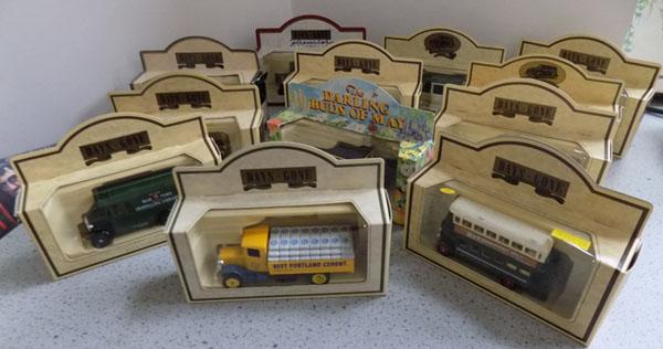 Selection of 12 boxed Lledo vehicles