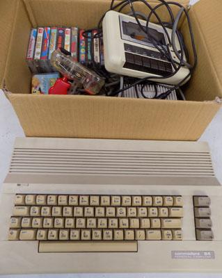 Commodore 64 with games etc