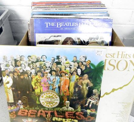 Box of assorted LP's