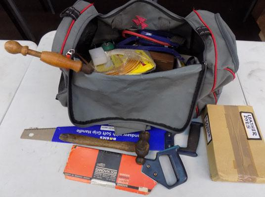 Large bag of tools