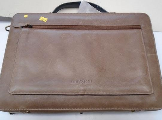 Leather laptop case (RRP £70)