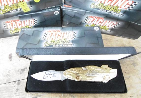 5 racing collectable knives