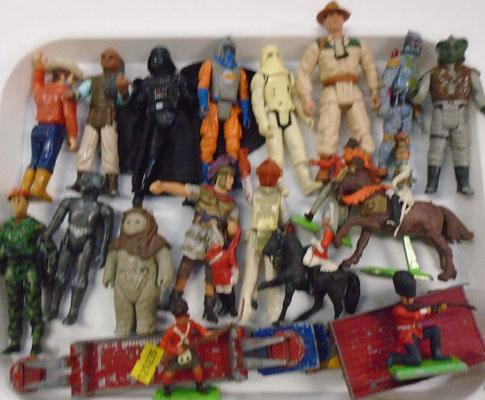 Selection of figures/toys