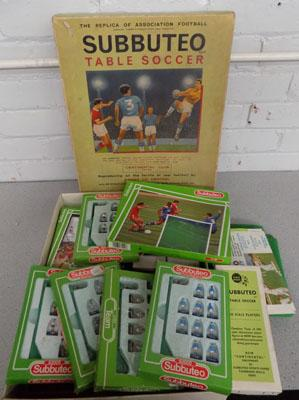 Subbuteo table soccer game