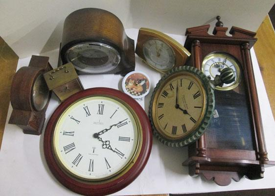 Selection of clocks