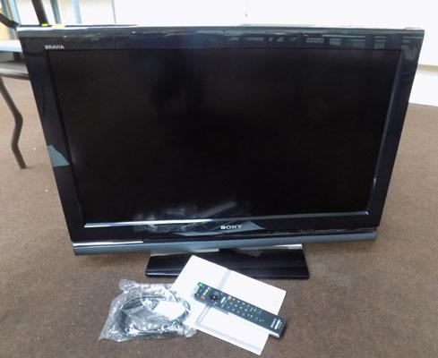 Sony Brava TV (remote & instructions in office) w/o