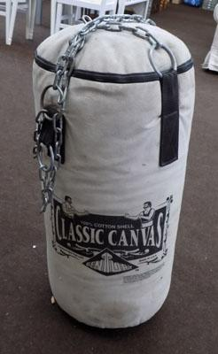 Century punch bag on chains