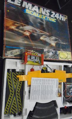 Le Mans 24hr scalextric incl: extra porshe 911