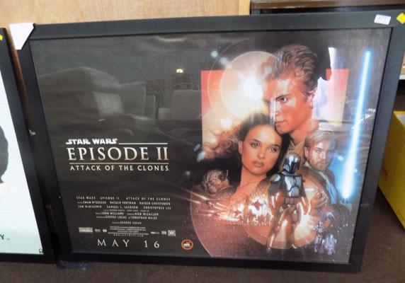 Star Wars 2 attack of clones-large framed poster