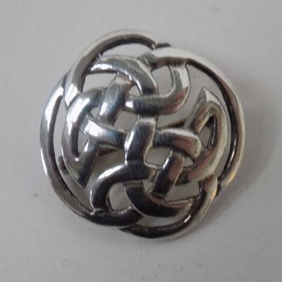 Sterling 925 silver Celtic brooch