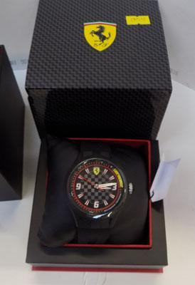 Ferrari Scuderia watch-boxed, brand new
