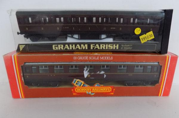 Graham Farish and Hornby coach